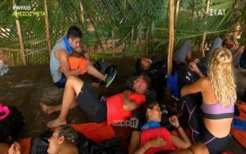 Προσβλητικές ατάκες στην ελληνική ομάδα του Survivor