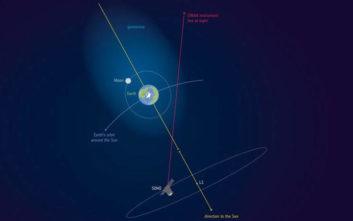 «Η ατμόσφαιρα της Γης φθάνει πέρα από το φεγγάρι»