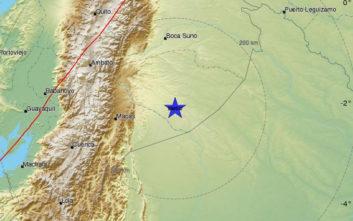 Σεισμός τώρα στα σύνορα Περού - Ισημερινού
