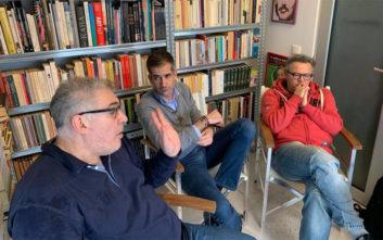Ο Κώστας Μπακογιάννης συζητά για την Αθήνα με τους Ρέππα και Παπαθανασίου