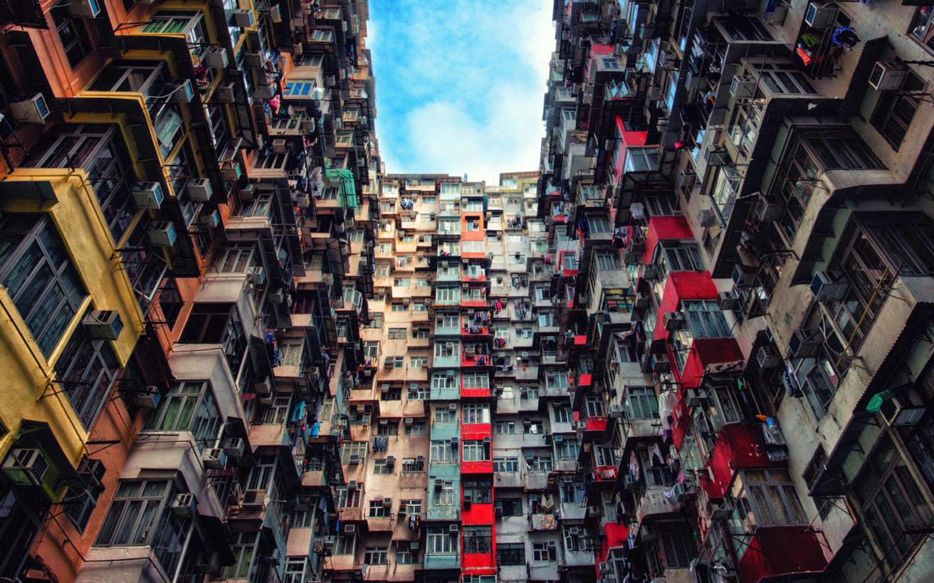 Πώς είναι να ζεις σε μια πολυκατοικία-μαμούθ;