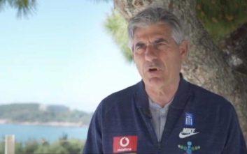 Άγγελος Αναστασιάδης στον ΟΠΑΠ: Η ιστορία μας «σπρώχνει» για πρόκριση