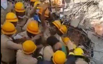 Bγήκε ζωντανός από τα ερείπια μετά από 62 ώρες