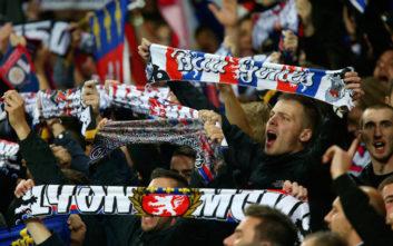 Συμπλοκές μεταξύ οπαδών στη Βαρκελώνη πριν το Μπαρτσελόνα-Λιόν