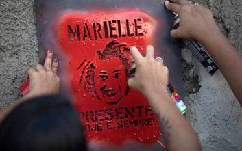 Αστυνομικοί με χειροπέδες για τη δολοφονία ακτιβίστριας πολιτικού στη Βραζιλία