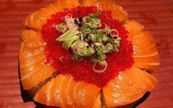 Πίτσα αλά… σούσι σε ιαπωνικό εστιατόριο στο Τορόντο