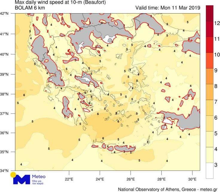 Σε ποιες περιοχές της Ελλάδας θα είναι… παιχνιδάκι το πέταγμα του χαρταετού