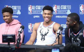 Τα αδέλφια Αντετοκούνμπο έγραψαν ιστορία στο NBA