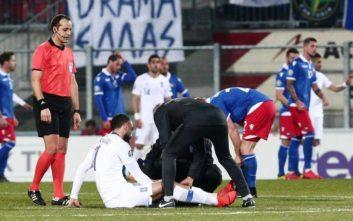 Χωρίς Μήτρογλου η Εθνική στο ματς με τη Βοσνία