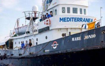 Οι ιταλικές αρχές κατάσχεσαν το πλοίο Mare Jonio