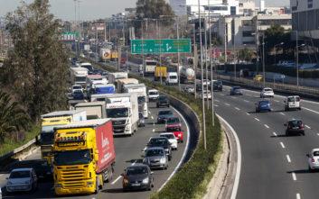 Κυκλοφοριακό κομφούζιο στην άνοδο της Αθηνών-Λαμίας