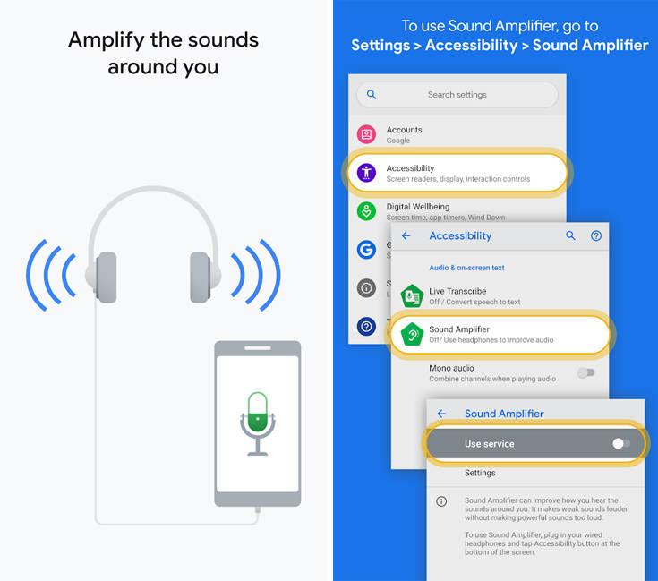 Πώς να μετατρέψετε το κινητό σας σε… ακουστικό βαρηκοΐας