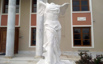 Στην Αλεξανδρούπολη το πρώτο πιστό αντίγραφο της Νίκης της Σαμοθράκης