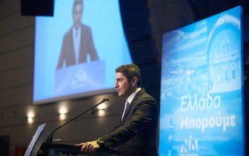 Αυγενάκης: Θα αναλάβουμε μεγάλες πρωτοβουλίες σε επίπεδο πολιτικής προστασίας