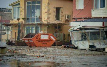 Προχωρά η αποκατάσταση των ζημιών από την κακοκαιρία στα Χανιά