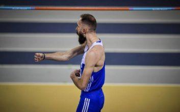 Ασημένιος ο Μπανιώτης στο ευρωπαϊκό πρωτάθλημα κλειστού στίβου