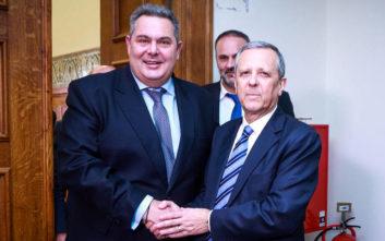 Συνεργασία Καμμένου - Μπαλτάκου για τις ευρωεκλογές 2019