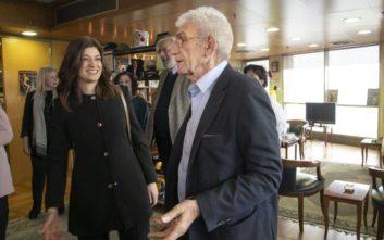 Ο Μπουτάρης ευχήθηκε στη Νοτοπούλου να εκλεγεί δήμαρχος Θεσσαλονίκης