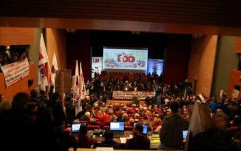 Αδιέξοδο στο συνέδριο της ΓΣΕΕ, σε νέο συλλαλητήριο καλεί του ΠΑΜΕ