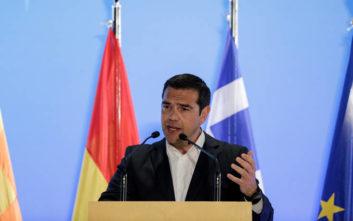 Τσίπρας: Αναγκαστήκαμε σε επίπονους συμβιβασμούς, αλλά δε χάσαμε τον στόχο μας