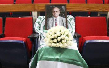 Μια θέση για τον Θανάση Γιαννακόπουλο για πάντα στο ΟΑΚΑ