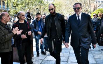 Χειροκροτήθηκε στην κηδεία του Θανάση Γιαννακόπουλου ο Σπανούλης