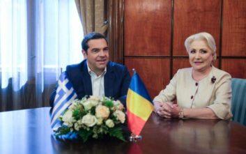 Τα συγχαρητήρια της πρωθυπουργού της Ρουμανίας στον Τσίπρα για την έξοδο από τα μνημόνια