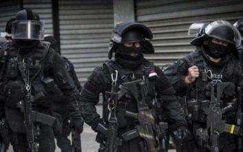 Κομάντος της γαλλικής αστυνομίας σε ειδική αποστολή σε φυλακή της Νορμανδίας