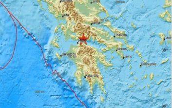 Σεισμός τώρα βορειοανατολικά της Πάτρας