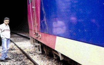 Ακινητοποιήθηκε τρένο του ΟΣΕ στη Μαλακάσα