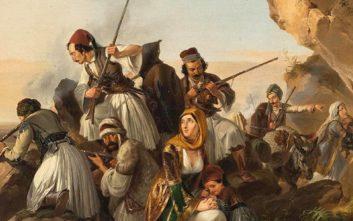 Το στρατιωτικό ισοζύγιο των δυνάμεων Ελλήνων και Οθωμανών σε στεριά και θάλασσα το 1821