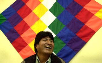 Στην Αθήνα ο πρόεδρος της Βολιβίας Έβο Μοράλες