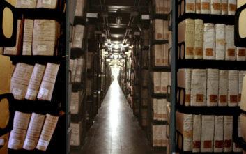 Η κίνηση του Βατικανού με τα μυστικά αρχεία του που προκαλεί ενδιαφέρον σε όλο τον κόσμο