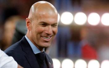 Ζιντάν: Είμαι ενθουσιασμένος με τις μεταγραφές της Ρεάλ Μαδρίτης