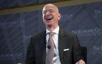 Πλουσιότερος άνθρωπος στον κόσμο ο Τζεφ Μπέζος, μεγάλη πτώση για τον Mr. Facebook