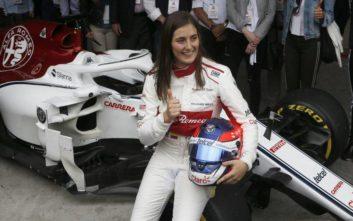 Μια γυναίκα στην Formula 1