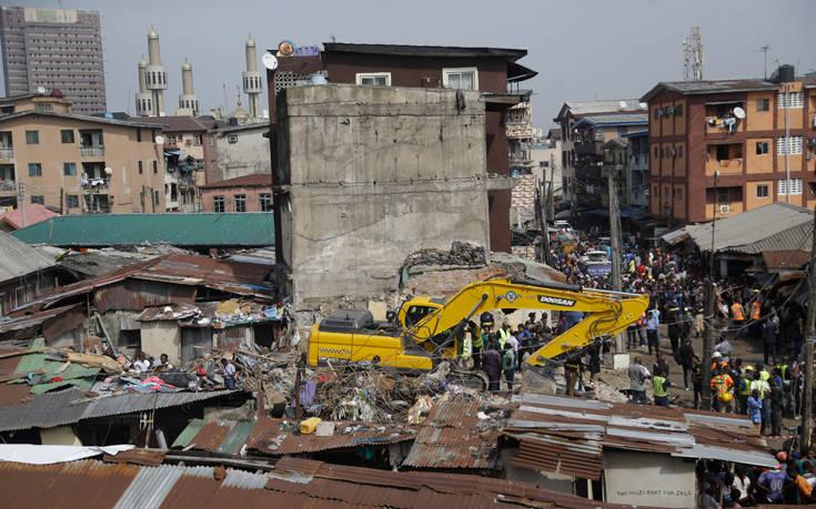 Στους 20 οι νεκροί από την κατάρρευση σχολείου στη Νιγηρία