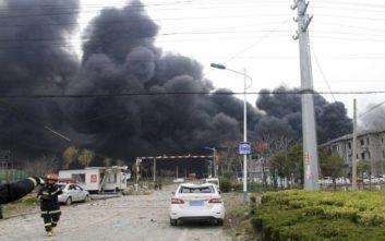 Έκρηξη αερίου σε εργοστάσιο στη Κίνα, πέντε νεκροί