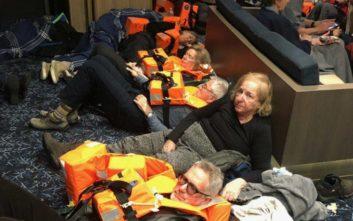 Όλη μέρα θα διαρκέσει η επιχείρηση εκκένωσης του κρουαζιερόπλοιου στη Νορβηγία