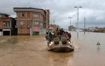 Άνευ προηγουμένου πλημμύρες στο Ιράν με 43 νεκρούς