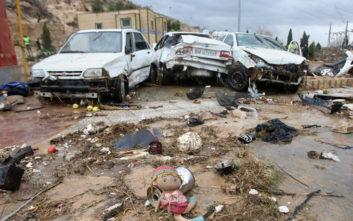 Αυξήθηκαν οι νεκροί από τις πλημμύρες στο Ιράν
