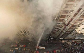 Φωτιά σε κτίριο 19 ορόφων στο Μπανγκλαντές