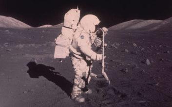 Τι έγραψε πάνω στην επιφάνεια της Σελήνης ο τελευταίος άνθρωπος που πάτησε το πόδι του