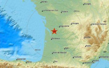 Σεισμός στη δυτική Γαλλία