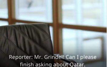 Ο πρόεδρος της γερμανικής ποδοσφαιρικής ομοσπονδίας άφησε σύξυλο δημοσιογράφο της Deutsche Welle