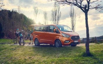 Με μεγαλύτερη ισχύ και ήπια υβριδική τεχνολογία το Ford Tourneo Custom Hybrid