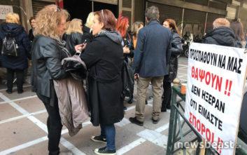 Ξανά στους δρόμους οι χήρες εναντίον του νόμου Κατρουγκαλου