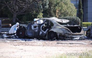 Φωτογραφίες και βίντεο με τα καμένα αυτοκίνητα στο πάρκινγκ στη Γλυφάδα μετά την έκρηξη