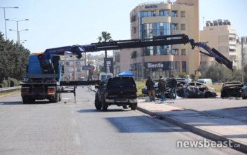 Σε τελικό στάδιο οι έρευνες των Αρχών στο πάρκινγκ στη Γλυφάδα