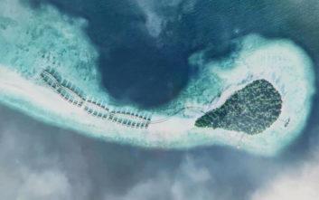 Ένα παραδεισένιο πολυτελές θέρετρο στις Μαλδίβες